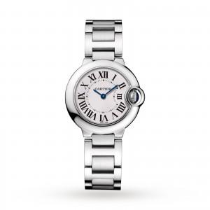 Ballon Bleu de Cartier watch 28 mm steel