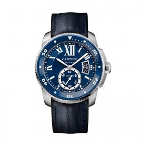 Calibre de Cartier Diver watch 42mm steel rubber