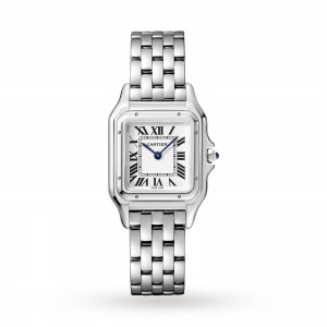 Panthère de Cartier watch Medium model steel
