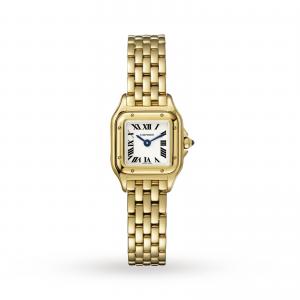 Panthère de Cartier watch Mini yellow gold