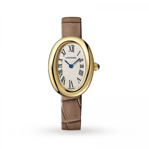 Baignoire watch Small model yellow gold