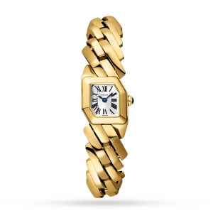 Maillon de Cartier watch Yellow gold