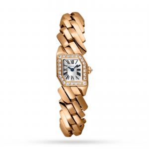 Maillon de Cartier watch Rose gold diamonds