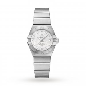 Omega Constellation Co-Axial 27mm Ladies Watch O12310272055002