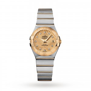 Omega Constellation Co-Axial 27mm Ladies Watch O12320272058001