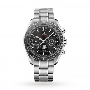 Omega Speedmaster Moonwatch Co-Axial Moonphase 44.25mm Mens Watch O30430445201001