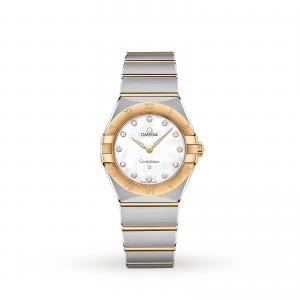 Omega Constellation Manhattan 28mm Ladies Watch O13120286055002