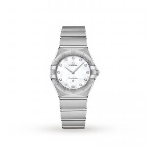 Omega Constellation Manhattan 28mm Ladies Watch O13110286055001
