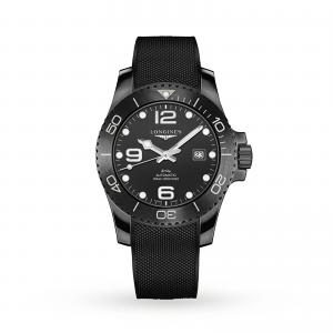 Longines All-black HydroConquest 43mm Mens Watch L37844569