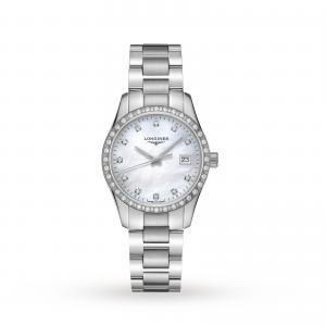 Longines Conquest Classic 34mm Ladies Watch L23860876