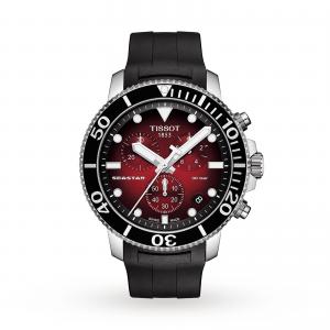 Tissot T-Sport Seastar 43mm Mens Watch Exclusive T1204171742100