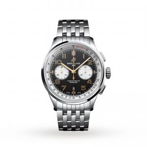 Breitling Premier B01 Chronograph 42 Norton Mens Watch AB0118A21B1A1