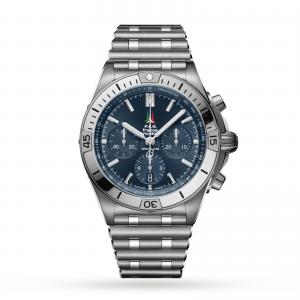 Breitling Chronomat B01 42 Frecce Tricolori Limited Edition Mens Watch AB01344A1C1A1