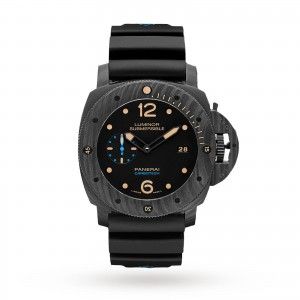Panerai Submersible Carbotech 3 Days 47mm Mens Watch PAM00616