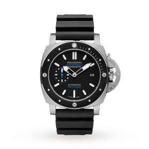 Panerai Submersible Amagnetic 47mm Mens Watch PAM01389