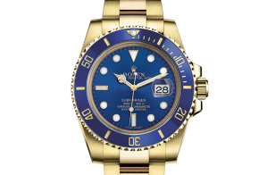 Rolex Submariner Oyster 40 mm yellow gold 116618lb-0003