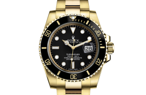 Rolex Submariner Oyster 40 mm yellow gold 116618ln-0001