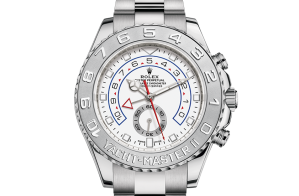 Rolex Yacht-Master II Oyster 44 mm white gold and platinum 116689-0002