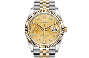 Rolex Datejust Oyster 36 mm Oystersteel and yellow gold 126233-0033