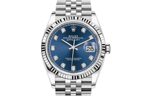 Rolex Datejust Oyster 36 mm Oystersteel and white gold 126234-0037