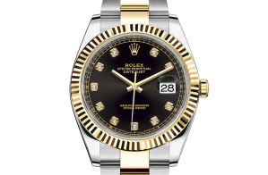 Rolex Datejust Oyster 41 mm Oystersteel and yellow gold 126333-0005