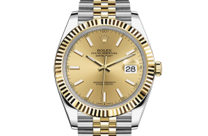 Rolex Datejust Oyster 41 mm Oystersteel and yellow gold 126333-0010