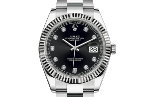 Rolex Datejust Oyster 41 mm Oystersteel and white gold 126334-0011