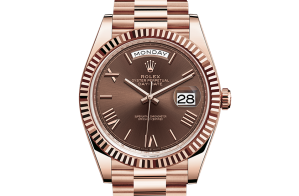 Rolex Day-Date Oyster 40 mm Everose gold 228235-0002