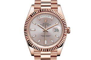 Rolex Day-Date Oyster 40 mm Everose gold 228235-0004