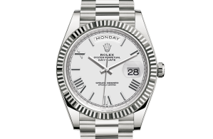 Rolex Day-Date Oyster 40 mm white gold 228239-0046