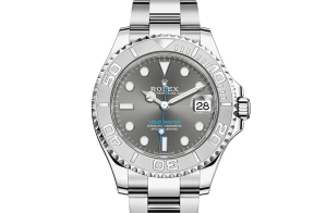 Rolex Yacht-Master Oyster 37 mm Oystersteel and platinum 268622-0002