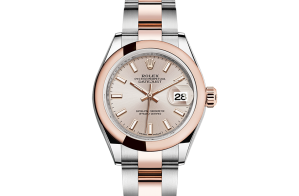 Rolex Lady-Datejust Oyster 28 mm Oystersteel and Everose gold 279161-0002