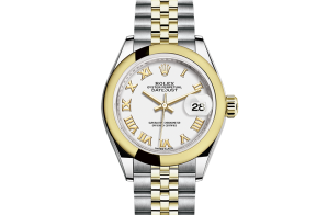 Rolex Lady-Datejust Oyster 28 mm Oystersteel and yellow gold 279163-0023