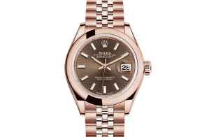 Rolex Lady-Datejust Oyster 28 mm Everose gold 279165-0008