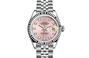 Rolex Lady-Datejust Oyster 28 mm Oystersteel and white gold 279174-0003