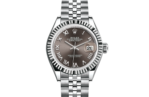 Rolex Lady-Datejust Oyster 28 mm Oystersteel and white gold 279174-0013
