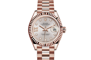 Rolex Lady-Datejust Oyster 28 mm Everose gold 279175-0005
