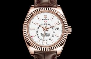 Rolex Sky-Dweller Oyster 42 mm Everose gold 326135-0006