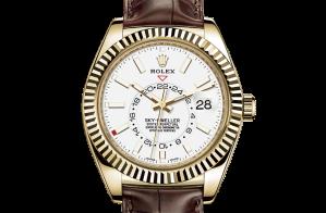 Rolex Sky-Dweller Oyster 42 mm yellow gold 326138-0010