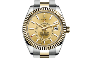 Rolex Sky-Dweller Oyster 42 mm Oystersteel and yellow gold 326933-0001