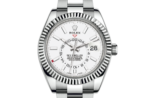 Rolex Sky-Dweller Oyster 42 mm Oystersteel and white gold 326934-0001